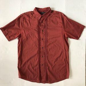 Express Men's Short Sleeve button down shirt Sz L